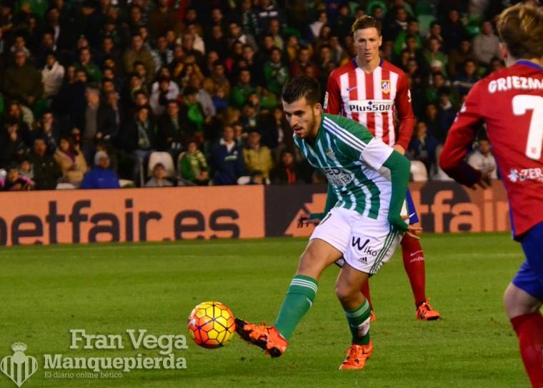 Ceballos salió en la segunda parte  (Betis-Atletico 15/16)