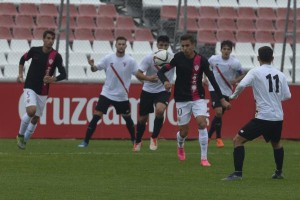 S.Atlético 2-1 Almería B. Foto: lavozdealmeria.es