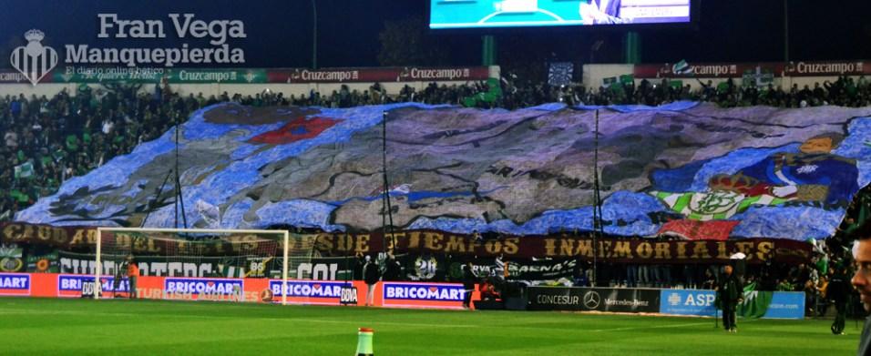 Tifo gol sur (Betis-Sevilla 15/16)