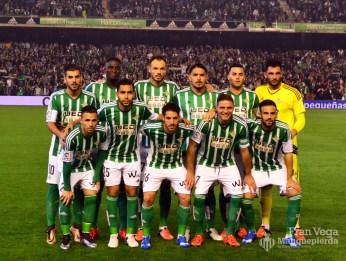 Los 11 guerreros del derbi (Betis-Sevilla 15/16)