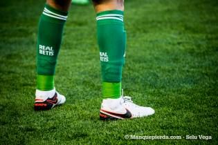 Una de las piernas más valiosas del Betis, Daniel Ceballos, suplente hoy.
