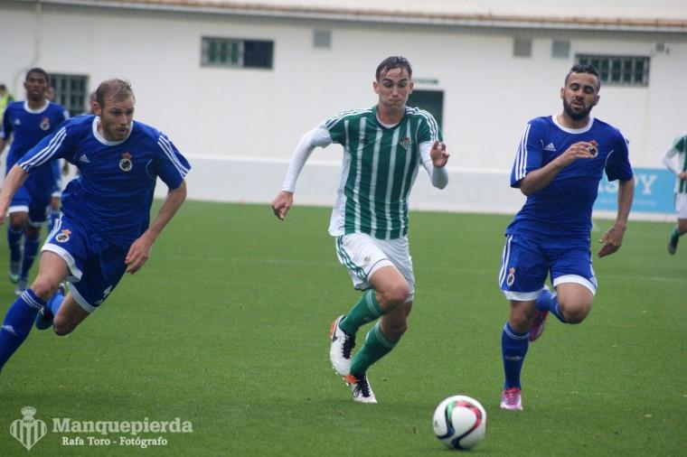 Fabián debutaba con el filial, y aunque no varió el juego del equipo si le dió un plus de calidad