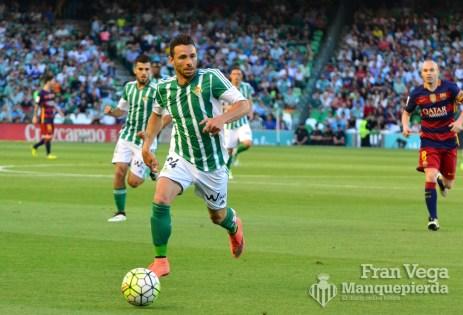 Rubén y Ceballos (Betis-Barcelona 15/16)