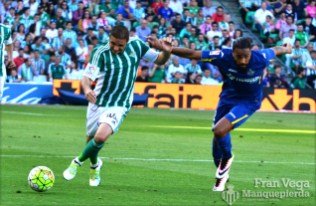 Joaquín en carrera (Betis-Getafe 15/16)