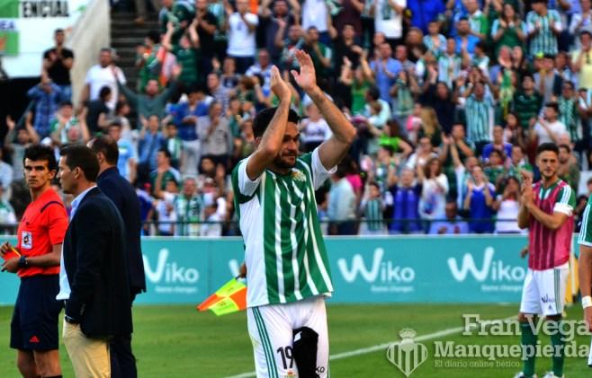 Despedida de Molina ,Agradeciendo a la afición