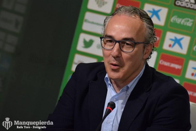 Miguel Torrecilla en rueda de prensa. Foto: Rafa Toro