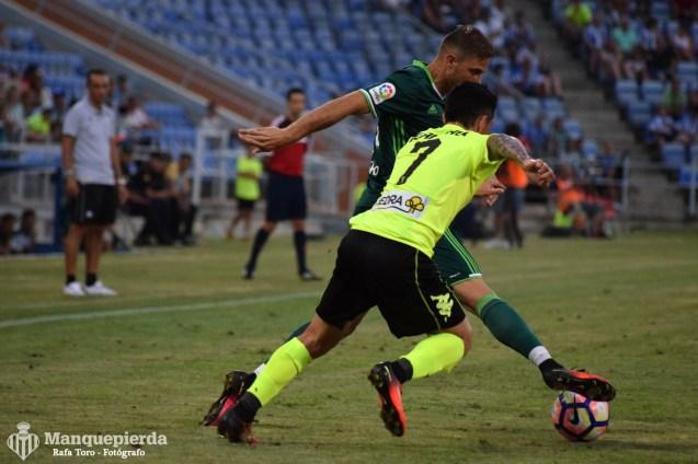 Real Betis 0-2 Córdoba (Colombino). Foto: Rafa Toro