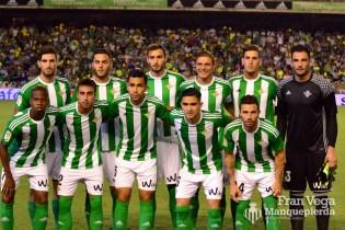 Alneación inicial (Betis-Málaga 16/17)