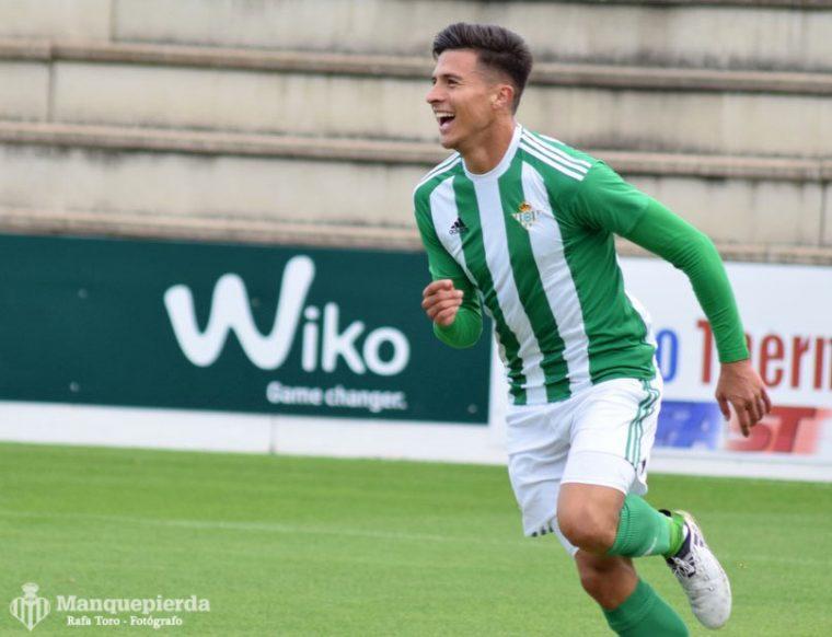 Narváez, autor de los dos goles del Betis B, sigue en estado de gracia