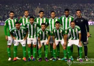 Alineación (Betis-Las Palmas 16/17)