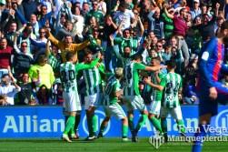 Celebración del gol (Betis-Barca 16/17)