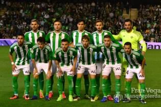 alineación inicial (Betis-Osasuna 16/17)