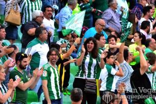 2-0 y la afició volvio a sonreir (Betis-Eibar 16/17)