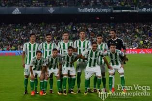 Alineación (Betis-Valencia 17-18)