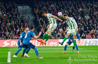 Doble salto Fabian y Loren (Betis-Madrid 17-18)