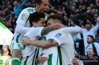 Celbracion del gol Loren(Betis-Villarreal 17-18)
