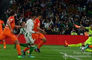Durmisi marca gol (Betis-Malaga 17-18)