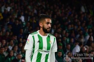 Sustitución Boudebuz (Betis-Malaga 17-18)