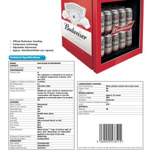 Budweiser Mini Drinks Cooler