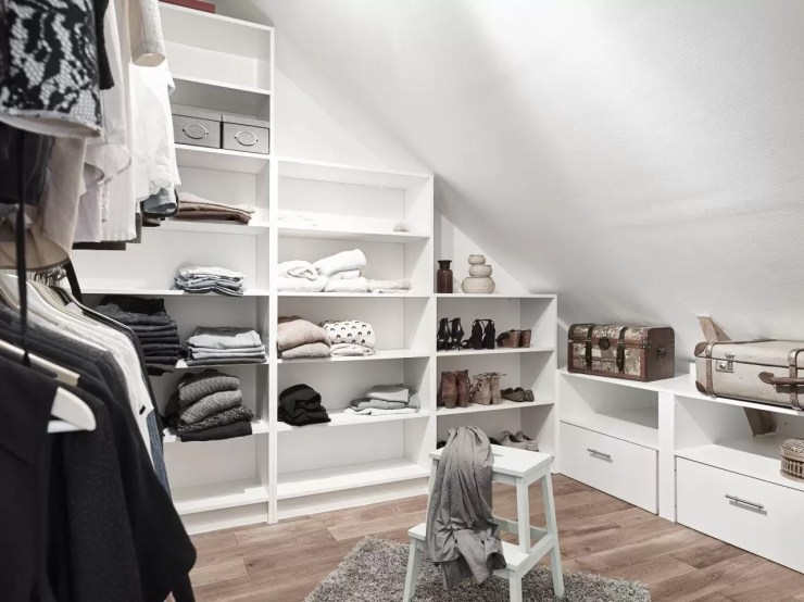 Cabina Armadio Mansarda Ikea 2021