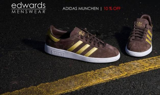 adidas Originals Munchen – Brown / Gold CQ2320 – Reduced