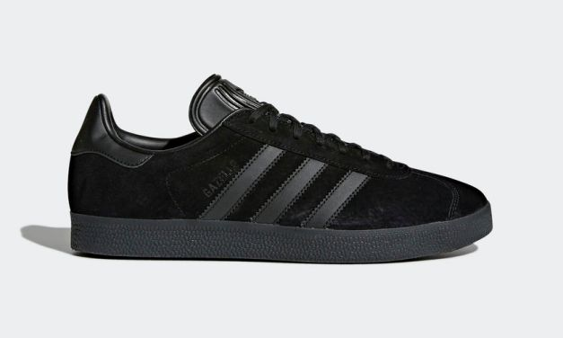 "New Release – adidas "" All Black "" Gazelle"