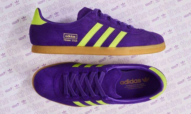 adidas Originals Trimm Star – Purple / Yellow – Release Information
