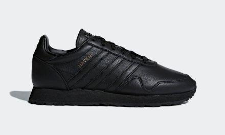 adidas Originals Haven – Core Black / Core Black Leather