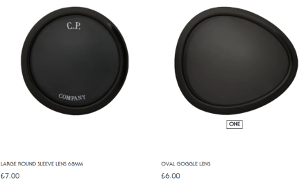 CP Company replacement Lenses – Now available to buy