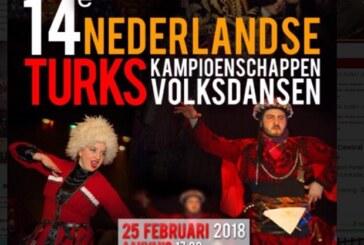 Hollanda Türk Halk Oyunları Yarışması 14. Kez Yapılacak