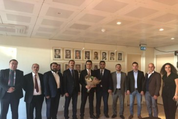Başkonsolos Yılmaz, Müsiad Rotterdam Heyetini kabul etti