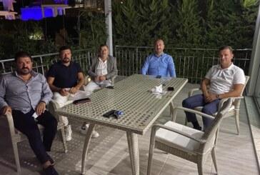 FETHİYE ORKA, TBMM BAŞKANI VE ADALET BAKANI'NI AĞIRLADI
