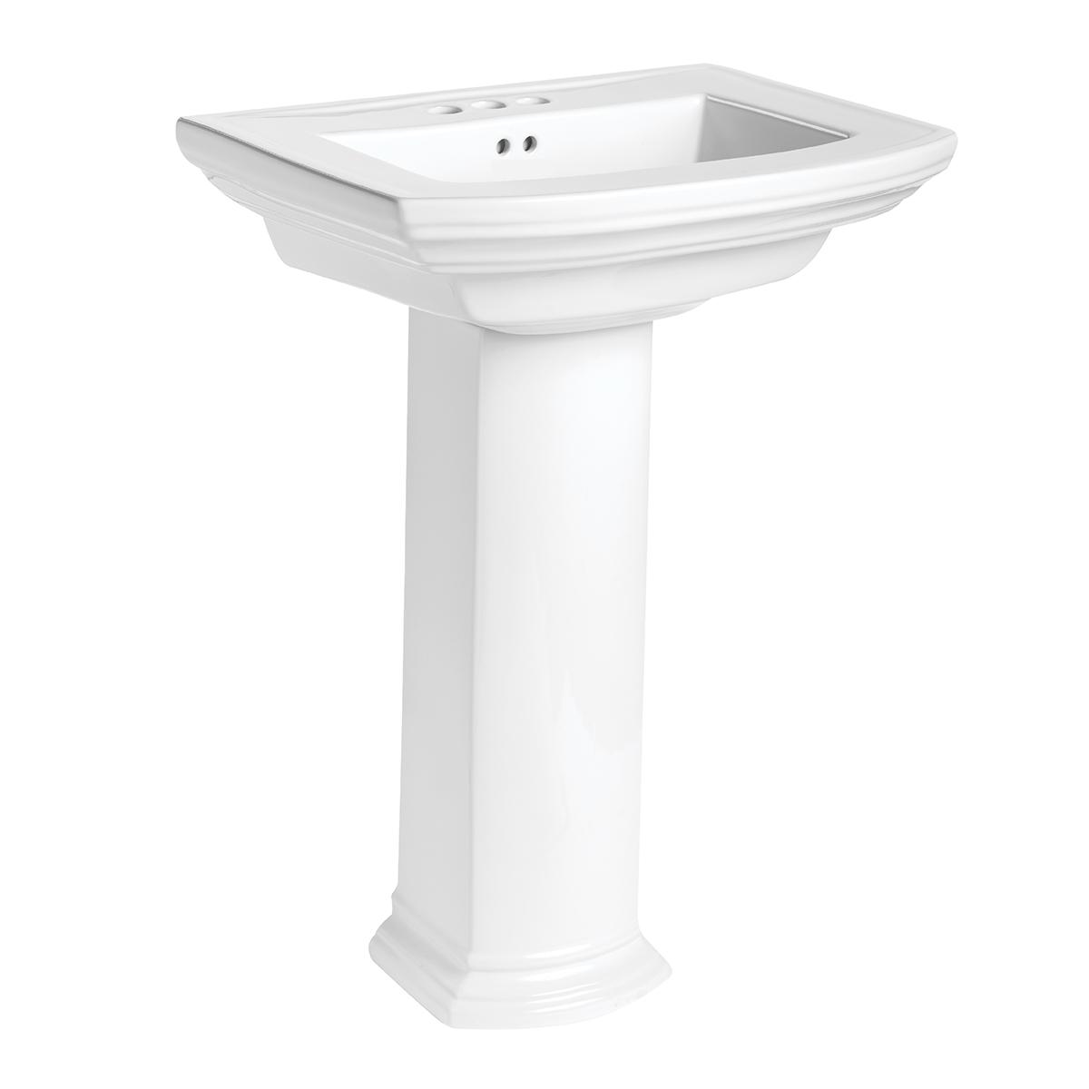 barrett combination lavatory pedestal