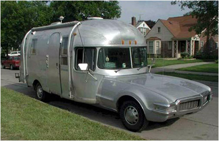 Airstream Camper Car