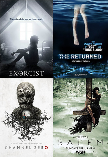 The Exorcist, The Returned, Channel Zero, Salem