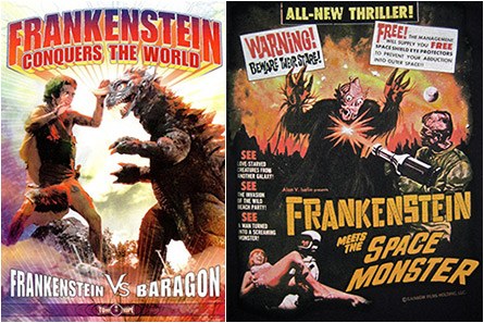 Frankenstein Conquers The World / Frankenstein meets the Space Monster