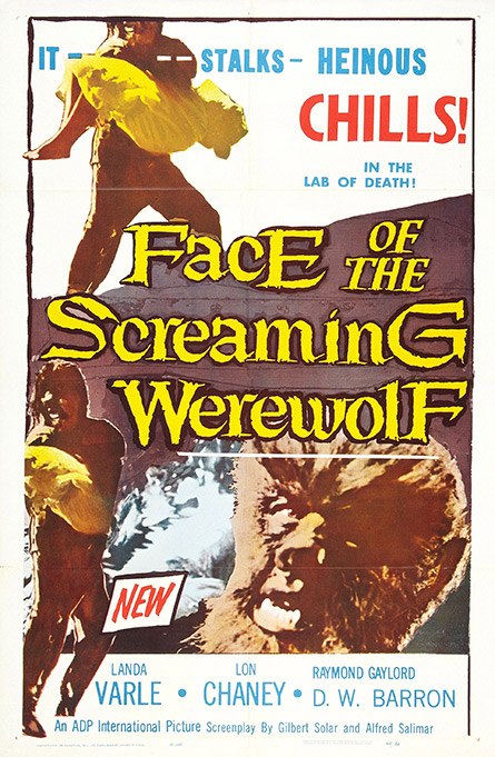 Face of the Screaming Werwolf