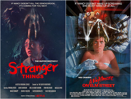Stranger Things 2 / A Nightmare on Elm Street