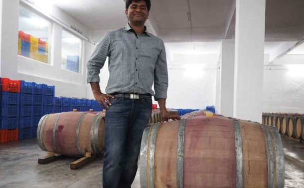 Ajay Patil, wine maker Charosa