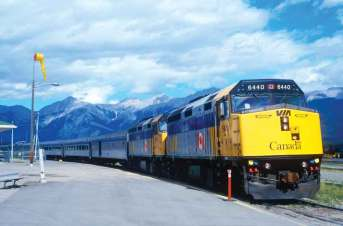 The 1158-km journey from Jasper, in Alberta, to Prince Rupert, British Columbia, takes about two days
