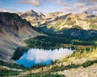 Blowdown Lake in the Coast Mountains