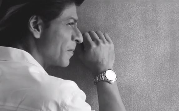 Exclusive behind-the-scenes footage of Shah Rukh Khan!