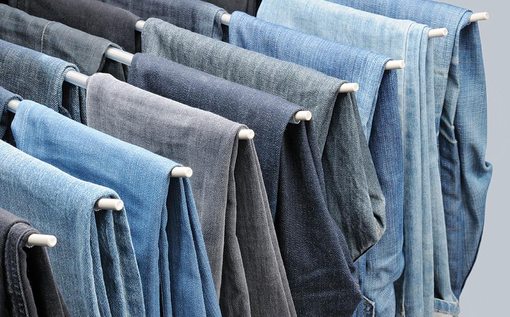 Ironing Chinos & washing jeans