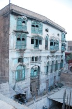 The Kapoor haveli in Dhaki Munawar Shah neighbourhood