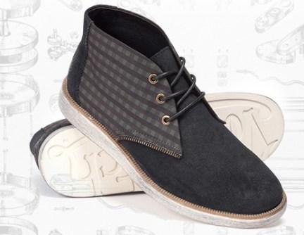 Von Dutch Checked Tool Box Boots_Rs 3899
