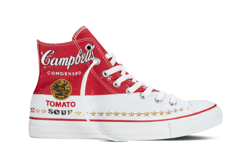 Converse shoes to feature Andy Warhol