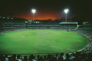 Floodlights debuted in 1992