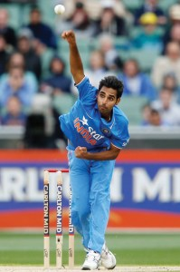 Bhuvneshwar Kumar has one of the best wrist positions in the game