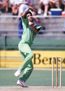 Wasim Akram at his peak