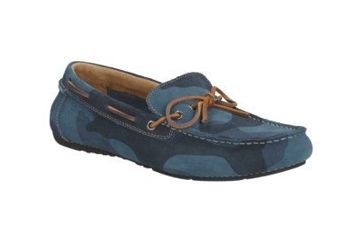 Boat shoes in camouflage print from Clarks